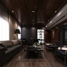 Фотография: Гостиная в стиле Современный, Декор интерьера, Квартира, Дом, Декор дома, Потолок – фото на InMyRoom.ru