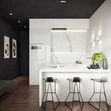 Фото из портфолио Интерьер квартиры в ЖК Триумф Палас – фотографии дизайна интерьеров на INMYROOM