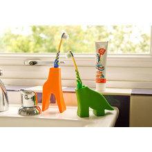 Держатель для зубной щетки J-me giraffe оранжевый