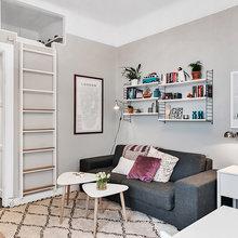 Фото из портфолио Миниатюрная квартирка площадью 26 кв.м. – фотографии дизайна интерьеров на INMYROOM