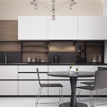 Фото из портфолио Кухня в Пентхаусе – фотографии дизайна интерьеров на INMYROOM