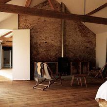 Фотография: Спальня в стиле Лофт, Австралия, Дизайн интерьера, Минимализм, Переделка – фото на InMyRoom.ru