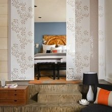 Фотография: Спальня в стиле Восточный, Малогабаритная квартира, Квартира, Дома и квартиры – фото на InMyRoom.ru