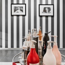 Фото из портфолио Салон красоты CELEBRITY на Садовниченской – фотографии дизайна интерьеров на INMYROOM