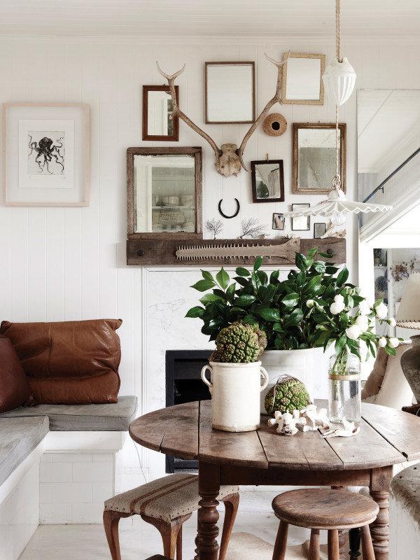 Фотография: Гостиная в стиле Кантри, Декор интерьера, Дом, Австралия, Дом и дача – фото на InMyRoom.ru