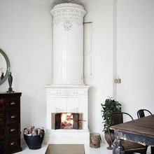 Фото из портфолио Светлая Шведская квартира – фотографии дизайна интерьеров на INMYROOM