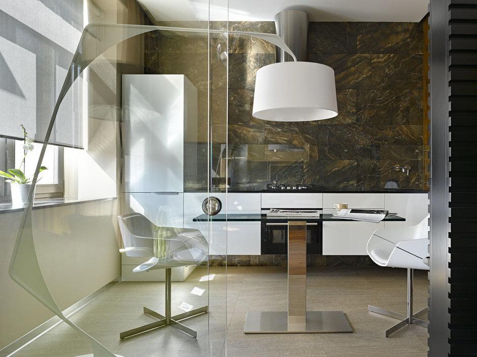 Фотография: Кухня и столовая в стиле Современный, Малогабаритная квартира, Квартира – фото на InMyRoom.ru