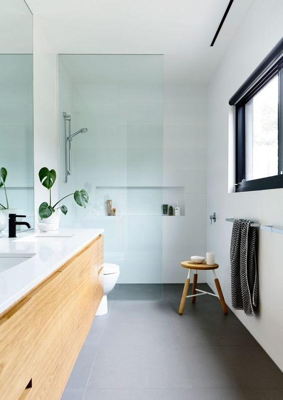 Фотография: Ванная в стиле Минимализм, Кухня и столовая, Советы, Ремонт на практике – фото на InMyRoom.ru