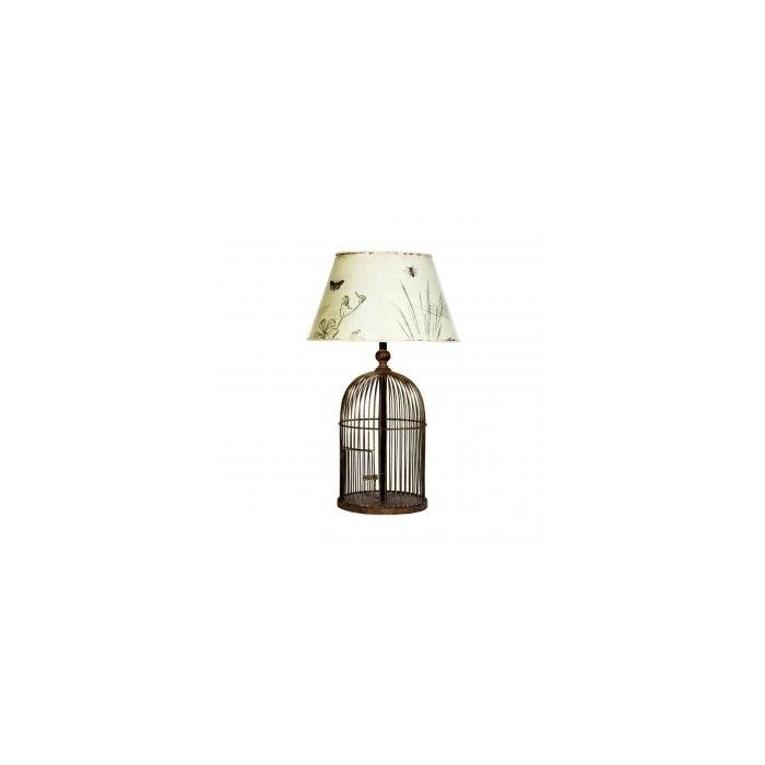 Лампа METAL BIRDCAGE TABLE
