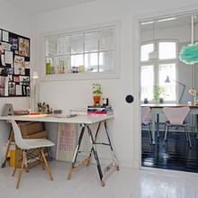Фотография: Кухня и столовая в стиле Скандинавский, Кантри, Малогабаритная квартира, Квартира, Дома и квартиры, Стокгольм – фото на InMyRoom.ru