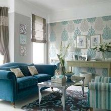 Фотография: Гостиная в стиле Кантри, Декор интерьера, Квартира, Дом, Декор, Синий – фото на InMyRoom.ru