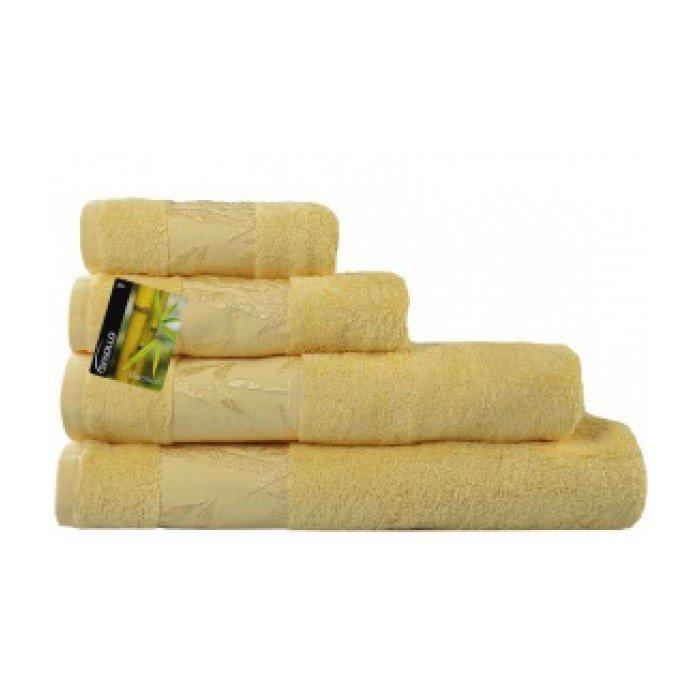 Полотенце Бамбук 50х90 желтый