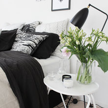 Фото из портфолио Текстиль для спальни: стильное убранство кровати... – фотографии дизайна интерьеров на InMyRoom.ru