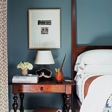 Фотография: Спальня в стиле Кантри, Лофт, Декор интерьера, Аксессуары, Декор, Белый, Черный, Желтый, Серый, Бирюзовый – фото на InMyRoom.ru