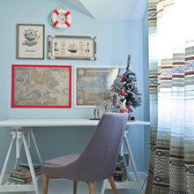 Фотография: Кабинет в стиле Современный, Кантри, Декор интерьера, Дом, Проект недели – фото на InMyRoom.ru