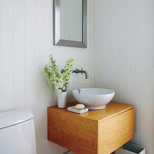 Фотография: Ванная в стиле Современный, Декор интерьера, Квартира, Дом, Дома и квартиры, Морской, Пол – фото на InMyRoom.ru