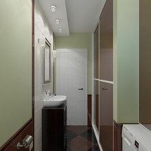 Фотография: Ванная в стиле Современный, Дом, Цвет в интерьере, Дома и квартиры, Белый, Проект недели – фото на InMyRoom.ru