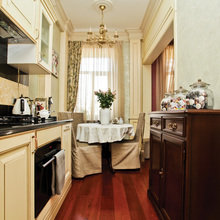 Фотография: Кухня и столовая в стиле Кантри, Скандинавский, Классический, Квартира, Дома и квартиры, Проект недели – фото на InMyRoom.ru