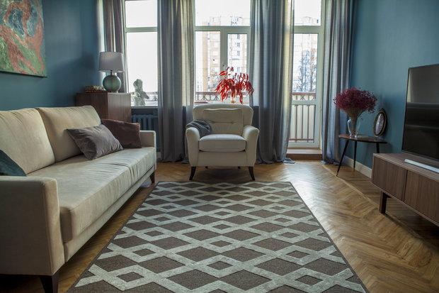 Фото из портфолио Квартира в сталинском доме, 63 м² – фотографии дизайна интерьеров на INMYROOM