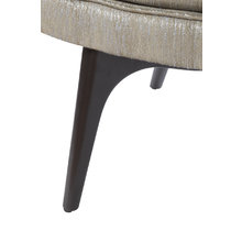 Кресло оригинальное серого цвета