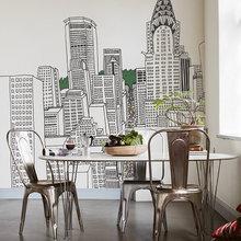 Фото из портфолио Экстравагантное решение для Ваших стен – фотографии дизайна интерьеров на InMyRoom.ru