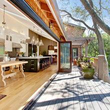 Фотография: Балкон, Терраса в стиле Современный, Дом, Дома и квартиры, Бассейн, Калифорния – фото на InMyRoom.ru