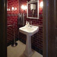Фотография: Ванная в стиле Кантри, Офисное пространство, Швеция, Офис, Дома и квартиры – фото на InMyRoom.ru