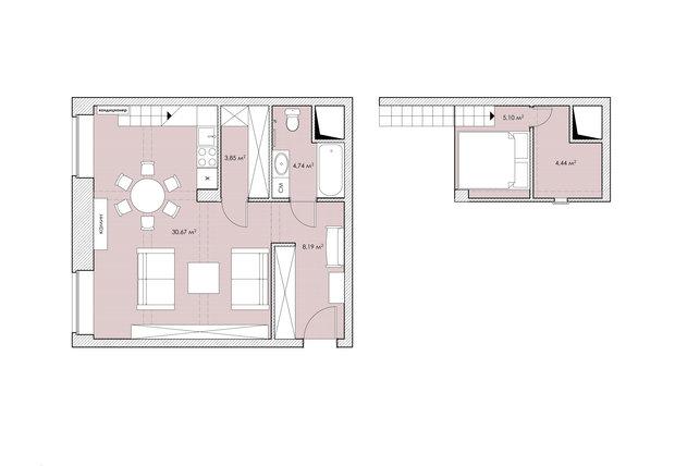Фотография: Прочее в стиле , Лофт, Квартира, Дома и квартиры, IKEA, Проект недели – фото на InMyRoom.ru