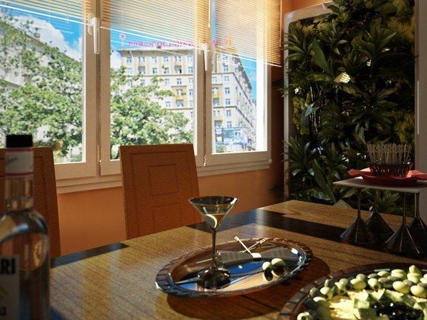 Фотография: Кухня и столовая в стиле Современный, Малогабаритная квартира, Квартира, Дома и квартиры, IKEA, Ремонт, П-111М – фото на InMyRoom.ru