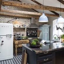 Фото из портфолио Кухня в деревенском стиле – фотографии дизайна интерьеров на InMyRoom.ru