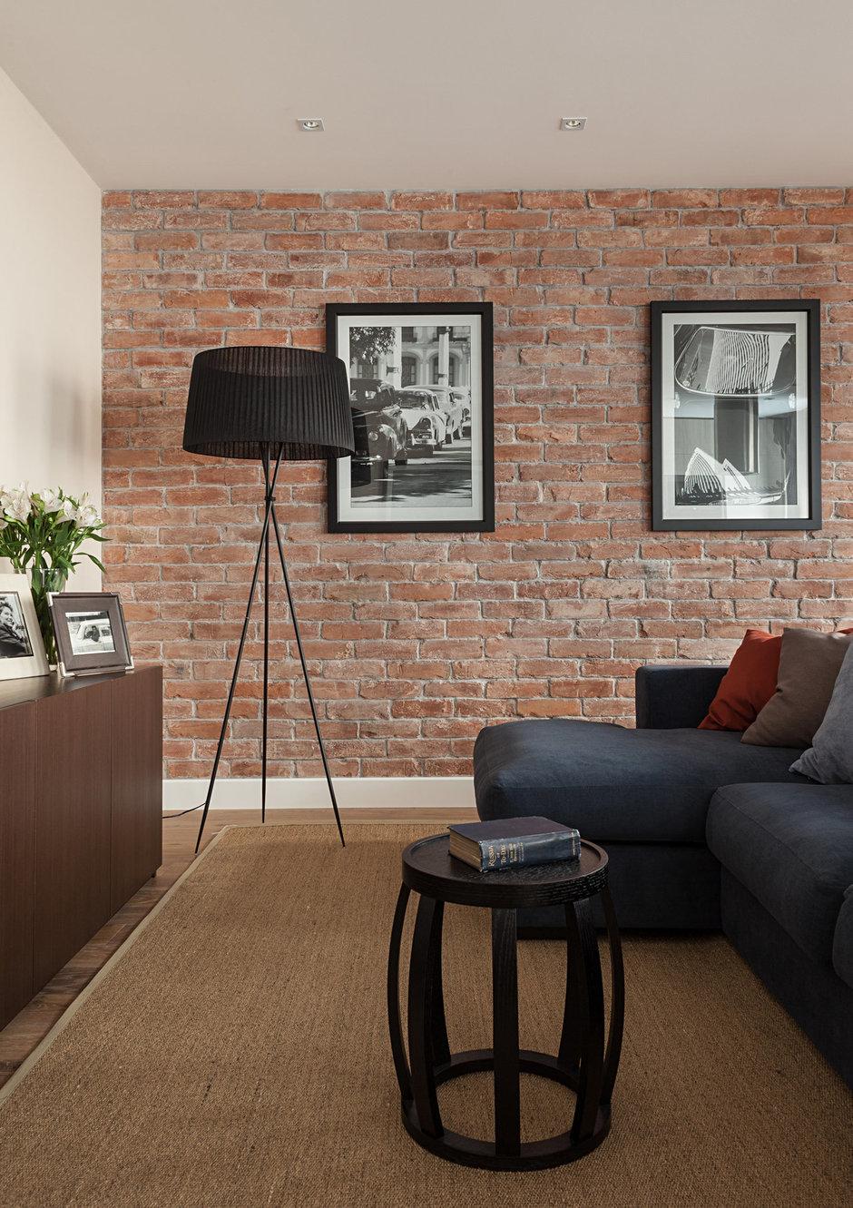 Фотография: Гостиная в стиле Современный, Эклектика, Классический, Квартира, Дома и квартиры, IKEA, Проект недели, Дина Салахова – фото на InMyRoom.ru