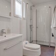 Фотография: Ванная в стиле Скандинавский, Советы, Белый, Дом и дача – фото на InMyRoom.ru