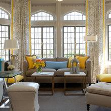 Фотография: Гостиная в стиле Классический, Декор интерьера, Дом, Дизайн интерьера, Цвет в интерьере – фото на InMyRoom.ru