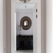 Фотография: Прихожая в стиле Кантри, Современный, Эклектика, Квартира, Проект недели – фото на InMyRoom.ru
