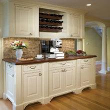 Фотография: Кухня и столовая в стиле Кантри, Декор интерьера, DIY, Стены, Кухонный фартук – фото на InMyRoom.ru