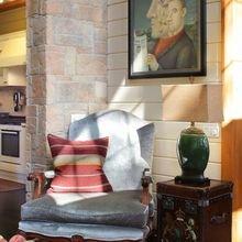 Фотография: Гостиная в стиле Кантри, Дом, Проект недели, Дом и дача, Московская область, дом из бруса, Александр Петунин, Палекс-строй – фото на InMyRoom.ru