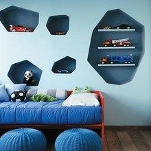 Фотография: Детская в стиле Современный, Декор интерьера, Мебель и свет – фото на InMyRoom.ru