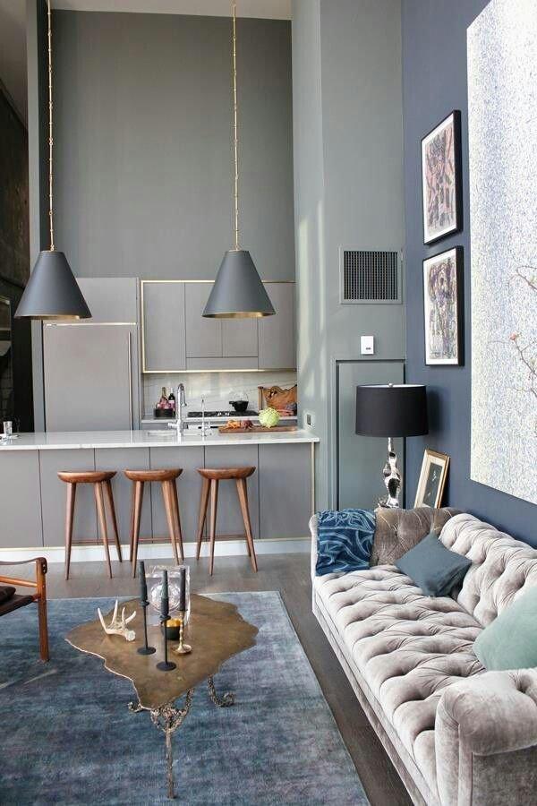 Фотография: Кухня и столовая в стиле Эклектика, Интерьер комнат – фото на InMyRoom.ru