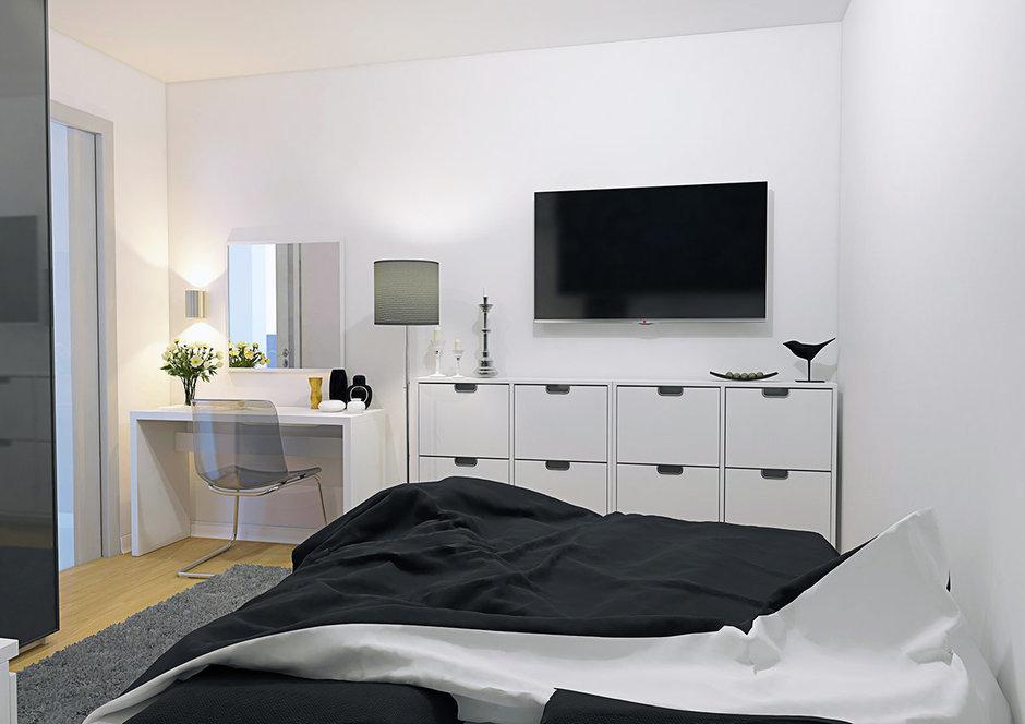 Фотография: Спальня в стиле Современный, Хай-тек, Минимализм – фото на InMyRoom.ru