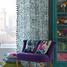 Фотография: Мебель и свет в стиле Кантри, Декор интерьера, Текстиль, Декор, Текстиль, Ткани, Шторы – фото на InMyRoom.ru