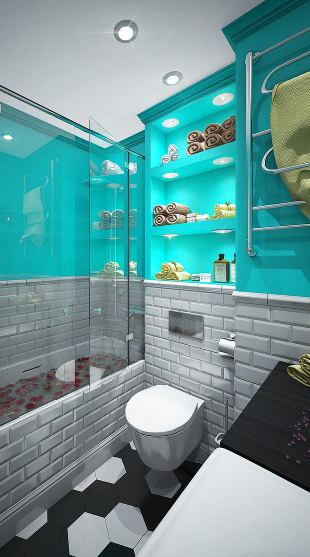 Фотография: Ванная в стиле Современный, Советы, Диана Пономарева – фото на InMyRoom.ru