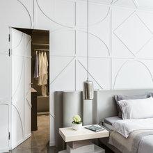 Фотография: Спальня в стиле Современный, Квартира, Проект недели, Ника Воротынцева – фото на InMyRoom.ru
