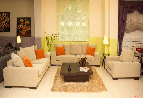 Фотография: Гостиная в стиле Классический, Современный, Декор интерьера, Текстиль, Подушки – фото на InMyRoom.ru