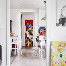 Фото из портфолио Жизнерадостный и красочный интерьер – фотографии дизайна интерьеров на INMYROOM