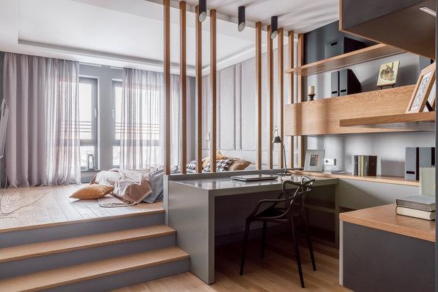Фото из портфолио Квартира для молодого человека. – фотографии дизайна интерьеров на INMYROOM