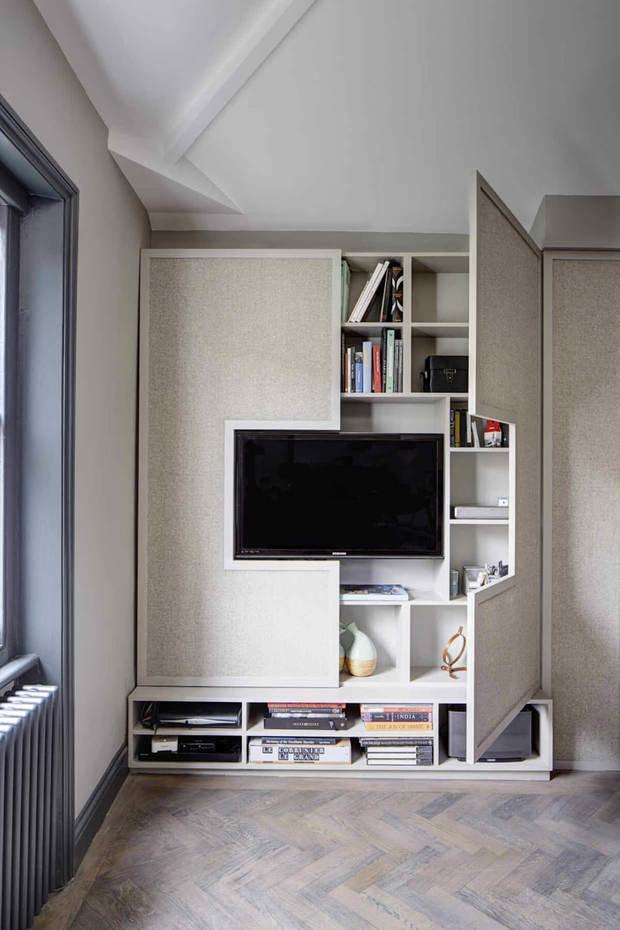 Фотография: Гостиная в стиле Современный, Малогабаритная квартира, Советы, Никита Морозов, KM Studio – фото на INMYROOM