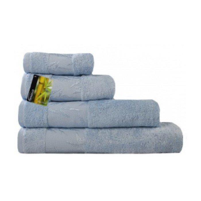 Полотенце Бамбук 50х90 голубой