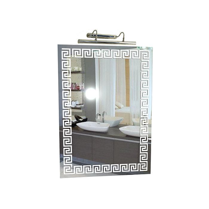 """Зеркало со светильником """"Греция 1"""""""