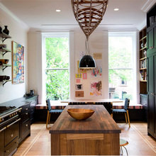 Фотография: Кухня и столовая в стиле Скандинавский, Эко, Дом, Дома и квартиры, Перепланировка, Нью-Йорк – фото на InMyRoom.ru