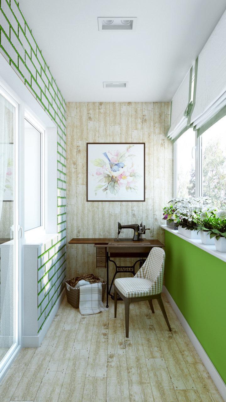 Интерьер маленькой квартиры-студии на 23 кв м.